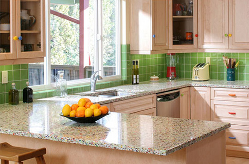 How to Style Countertops Window