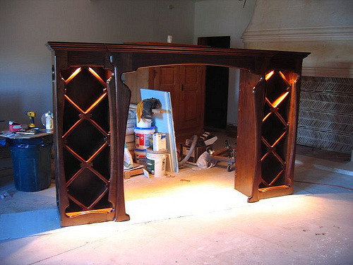 Table Suppliers and Manufacturers at Wine Rack with Glass Holder