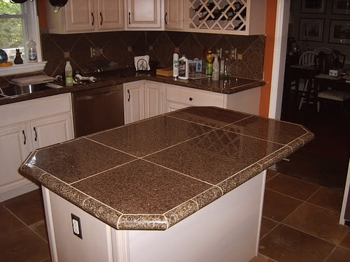 Kitchen Counter Backsplashes   Pictures and Ideas From HGTV No Backsplash