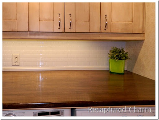 How to Install Countertops Over and Above Washer Dryer