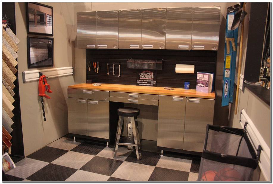 ProII™ Stainless Steel Countertops Garage
