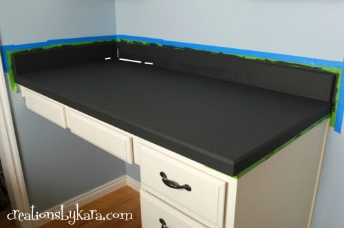 DIY Faux Marble Countertops Sticker